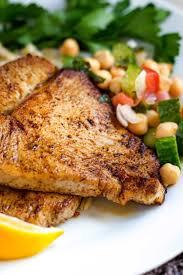 pan seared blackened ahi tuna fresh fish seasoned to cajun perfection and seared for
