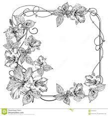 Clematis Flower Vintage Elegant Flowers Black