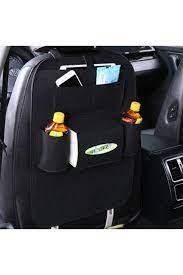 Ankaflex Araba Oto Koltuk Arkası Organizer Araç Içi Eşya Düzenleyici 2 Adet  -siyah Fiyatı, Yorumları - TRENDYOL