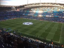Etihad Stadium Manchester Section 323 Row M Seat 636