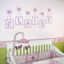 personalized wall decals names baby monogram wall decor hanging customized name decals personalised wall decals baby