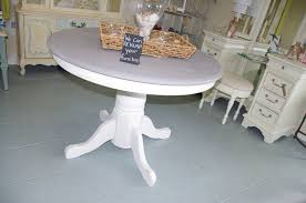 coastal chic boutique of including distressed white round dining table images