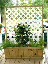 privacy screen with planters deck bench planter boxes best of condo and langdon outdoor tutorials lattice