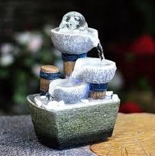 small desktop feng s decorative tabletop fountain lucky fortune