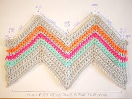 Sharp Chevron Crochet Pattern Unique Design Inspiration