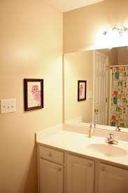terrific bathroom shelf decorating ideas. Fantastic Small Bathroom With White Single Sink Vanities Plus Drawers Also Mirror And Colorful Shower Terrific Shelf Decorating Ideas N