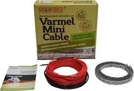 Теплый пол <b>Varmel Mini Cable</b> 1680 Вт, 112м, площадь обогрева ...