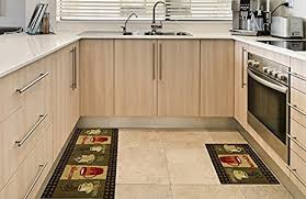 modern kitchen rugs. Anti-Bacterial Rubber Back Home And KITCHEN RUGS Non-Skid/Slip 18\u0026quot; Modern Kitchen Rugs E