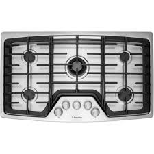 electrolux stove top. Beautiful Electrolux Electrolux WaveTouch 36 In Gas Cooktop In Stainless Steel With 5 Burners  And Min For Stove Top