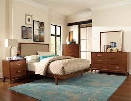 Light Cherry Bedroom Furniture Homelegance Soren Upholstered Bedroom Collection Light Cherry