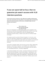 vlsi interview questions answers ebook vlsi design vlsi interview questions answers ebook vlsi design interview questions answers ebook pdf very large scale integration interview