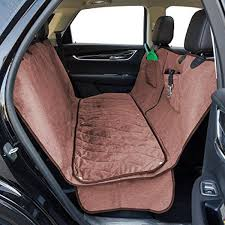 dog car seat cover with deluxe removable velvet seat pad for cars trucks suvs
