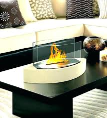 ethanol fireplace coffee table indoor tabletop modern flame outdoor coff tabletop fireplace