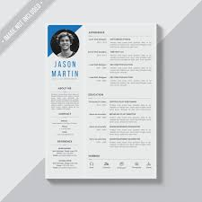 cv templatye editable cv format download psd file free download