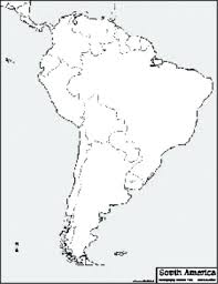 Outline Of South America Map Fortunedream Info