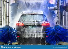 Car Wash Tunnel Design Vehicle Cleaning Car Wash Stock Photo Image Of Foam 152459636