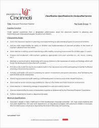 Kindergarten Teacher Resume Unique Preschool Teacher Cover Letter