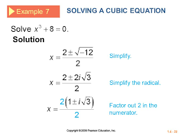 solution to cubic equation jennarocca solve the cubic equation by factoring