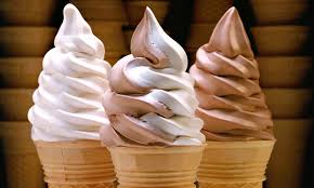 chocolate soft serve ice cream cone. Chocolatesoftserveicecreamcone With Chocolate Soft Serve Ice Cream Cone