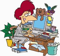 messy desk clipart. Exellent Messy Clip Art Images Messy Desk Clipart Library For  With D