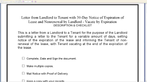 cover letter notice of lease termination from landlord to sample cover letter cover letter notice of lease termination from landlord to sample cover tenant day expiration