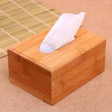 2019 tissue boxes natural bamboo napkin holder paper towel storage new creative vintage wooden napkin holders home supplies from unluckilybear