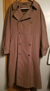 rl chaps microfiber tan trench coat w liner clothing shoes in lexington ky offerup