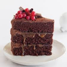 Sweet Salty Caramel Chocolate Cake 300x300