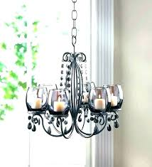outstanding wrought iron outdoor candle chandelier image ideas literarywondrous wrought iron outdoor candle