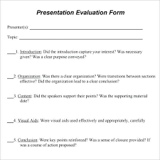 Sample Course Evaluation Form Free Documents In Word Employee ...