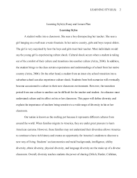 essay on learning styles writing constitutional law essays