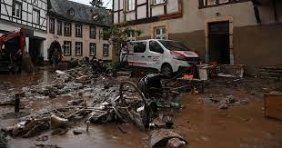 """فيضانات الموت"""" تروّع ألمانيا ودول الجوار"""