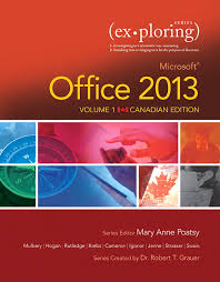 pearson exploring microsoft office 2013 volume 1 first canadian view larger cover exploring microsoft office