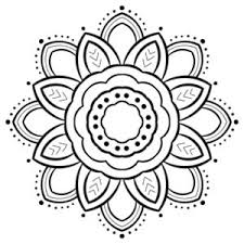 For the mandalas, i draw patterns and scan them onto the computer. Free Printable Coloring Pages Color A Mandala
