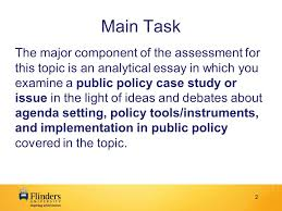 poad public policy assessment analytical essay what to do 2 2