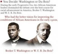 booker t washington vs w e b du bois argumentative essay by  booker t washington vs w e b du bois argumentative essay