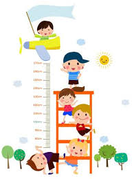 Clipart Growth Chart 725 Child Growth Chart Cliparts Stock Vector And Royalty