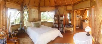 bamboo wall covering bedroom