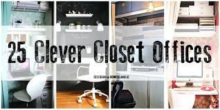 Office closet organization ideas Amazing Closet Office Ideas Home Office Closet Organization Ideas Project Gallery La Closet Office Ideas Home Office Closet Organization Ideas