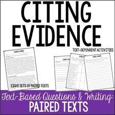 the best text based evidence ideas evidence  citing evidence practice text based writing persuasive