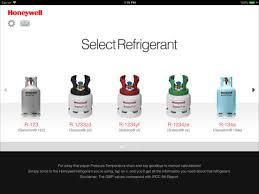 Honeywell Refrigerant Chart App Shopper Pt Chart Refrigerants Eu Reference