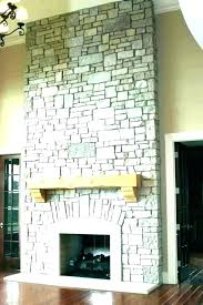 faux stone fireplace construction faux stone fireplace mantels