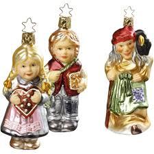 Märchen Hänsel Und Gretel Figuren 11 14cm Inge Glas Christbaumschmuck