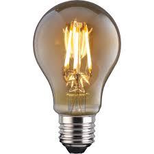 Tcp 1 Pack Screw E27es Vintage Led 4w 380 Lumens Classic Filament Light Bulb