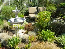 Small Picture Consider a no lawn backyard design to maximize the use of a small