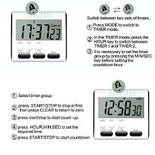 Set Timer 1 Min 1 Hour Timer With Alarm Andrewroyal Co