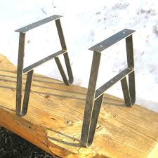 picnic table legs outdoor furniture patio table metal leg kit w benches made in aluminum picnic picnic table