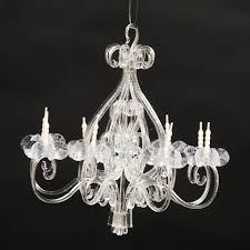 cute acrylic chandelier