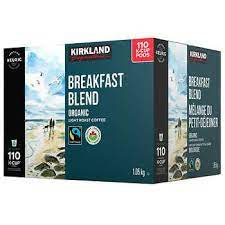 Intense, invigorating but surprisingly smooth, pacific bold is an exhilarating experience for those who like coffee with a little attitude. Kirkland Signature Organic Breakfast Blend Fair Trade K Cup Pods Pack Of 110