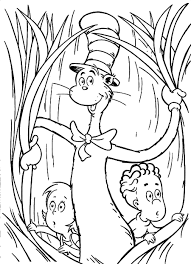 Small Picture Coloring Pages Cat In The Hat Hat Coloring Pageskidsfreecoloring